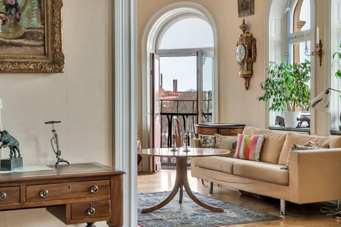 Bild: 6 rum bostadsrätt på Valhallavägen 110, 4tr, Stockholms kommun Östermalm