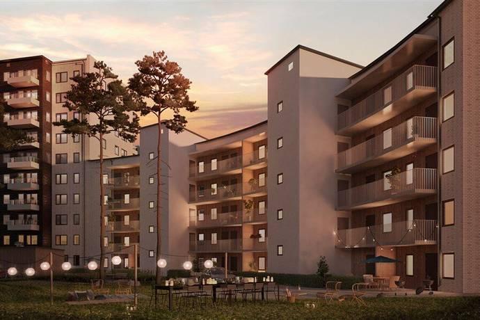 Bild: 2 rum bostadsrätt på Pressarvägen 25, 4 tr, Järfälla kommun Kallhäll