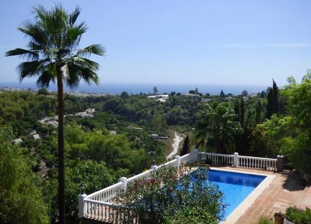 Bild: 6 rum villa på Stor villa med mycket karaktär, Frigiliana, Spanien Frigiliana