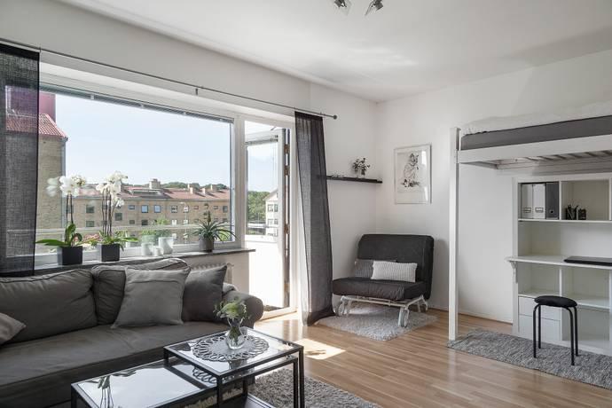 Bild: 1 rum bostadsrätt på Töpelsgatan 10B, Göteborgs kommun Örgryte