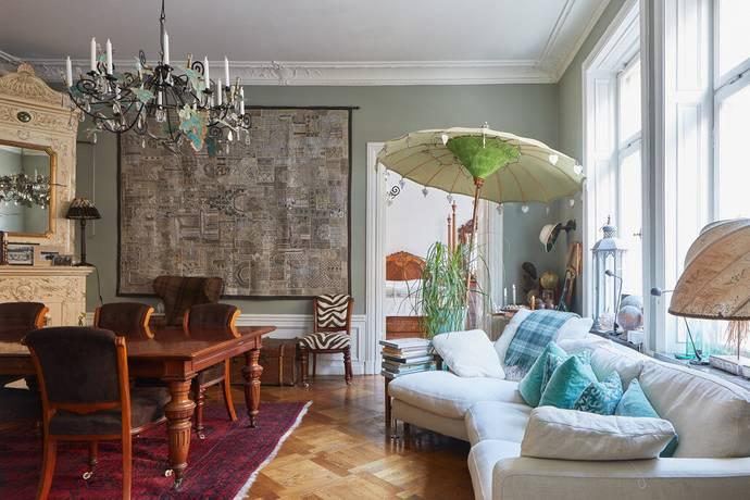 Bild: 6 rum bostadsrätt på Artillerigatan 25, Stockholms kommun Östermalm