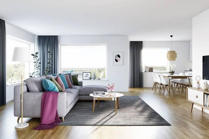 Bild: 4 rum bostadsrätt på Plutogatan 21, Helsingborgs kommun Björka/Ödåkra