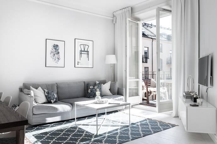 Bild: 2 rum bostadsrätt på Ingemarsgatan 3B, 4tr, Stockholms kommun Vasastan Sibirien