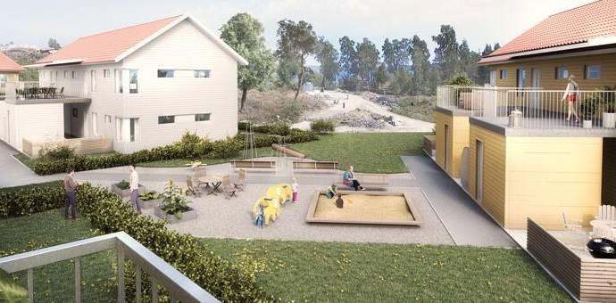 Bild: 2 rum bostadsrätt på Hus D, Uddevalla kommun