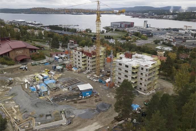Bild från Skogsgatan 44 A och 44 B