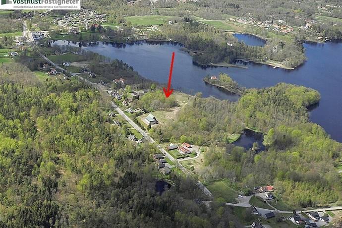 Bild: tomt på Hässleholmsvägen 105, Örkelljunga kommun Örkelljunga - Centralt