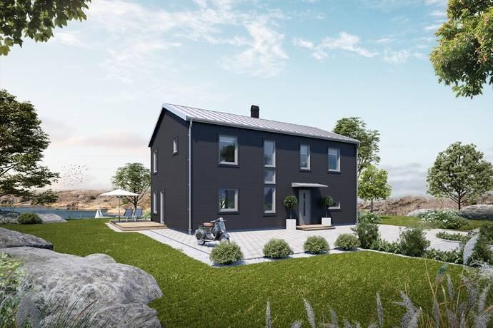 Bild: 7 rum villa på Alpbacken 9, Huddinge kommun Stortorp