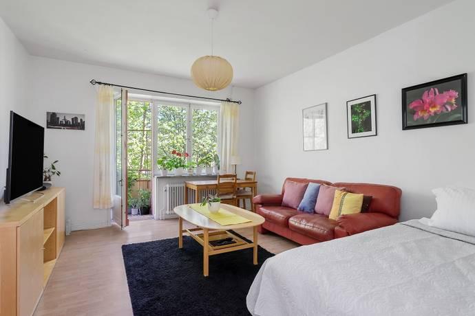 Bild: 2 rum bostadsrätt på Östervägen 8, 3tr, Solna kommun Råsunda