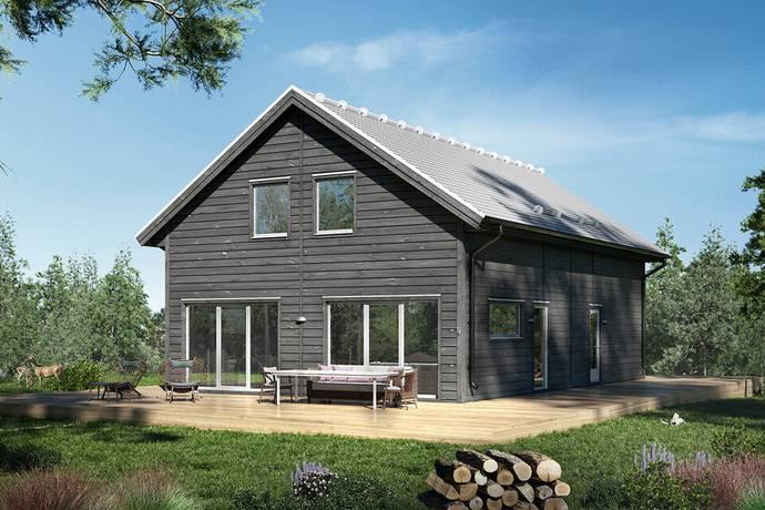 Bild: 175,4 m² villa på Korallvägen 15, Ronneby kommun Ekenäs