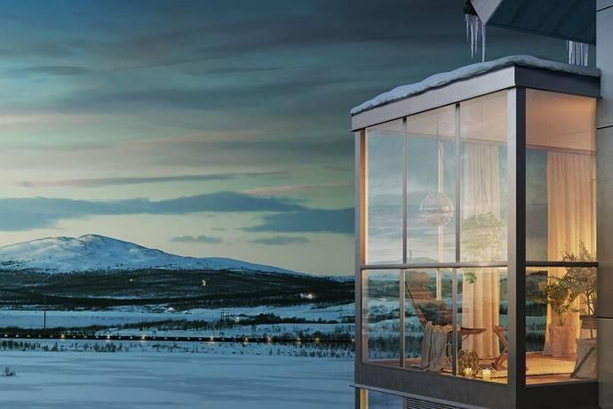 Bild: 4 rum bostadsrätt på Maria Taavenikus Gata 2, Kiruna kommun