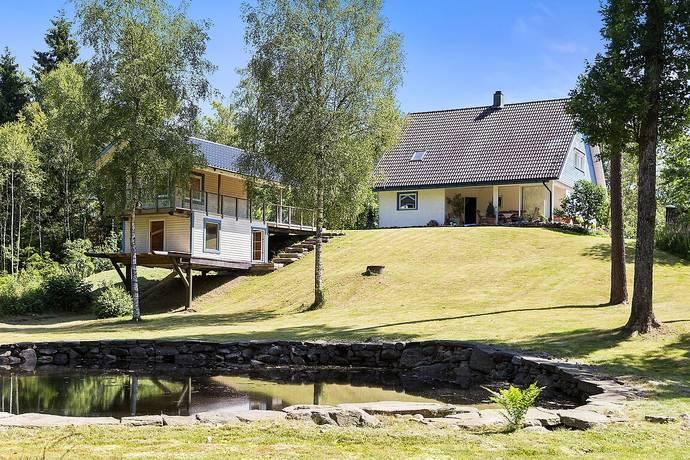 Bild: 4 rum villa på Kornarp 114, Falkenbergs kommun Ätran
