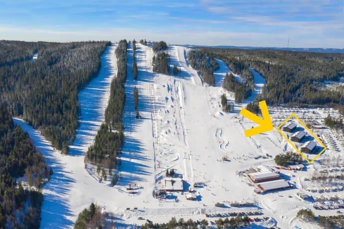 Bild från Säfsen - Säfsens bästa ski in/ski out-läge!