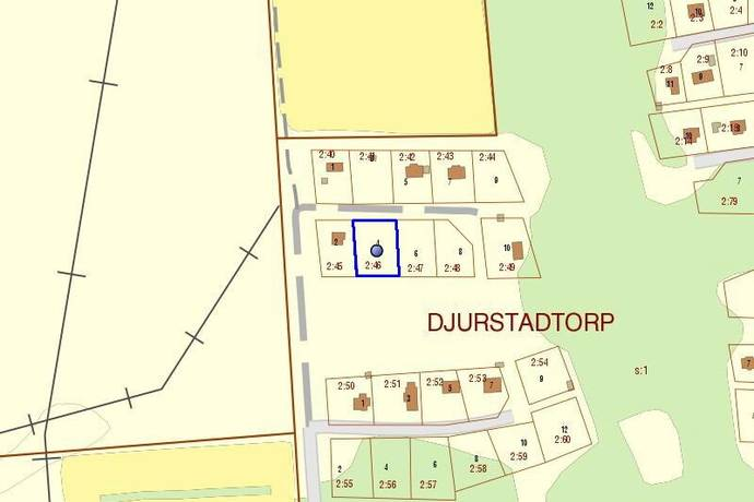 Bild: tomt på Blåbärsstigen 4, Borgholms kommun Djurstadtorp