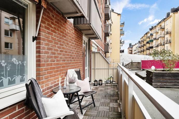 Bild: 2 rum bostadsrätt på Brännkyrkagatan 87, Stockholms kommun Södermalm