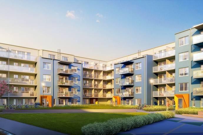 Bild: 1 rum bostadsrätt på Herculesgatan 8, Järfälla kommun Barkarbystaden