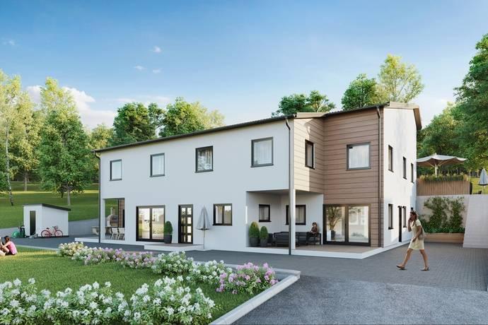 Bild: 6 rum radhus på Tobaksgatan 14B, Södertälje kommun Glasberga Sjöstad