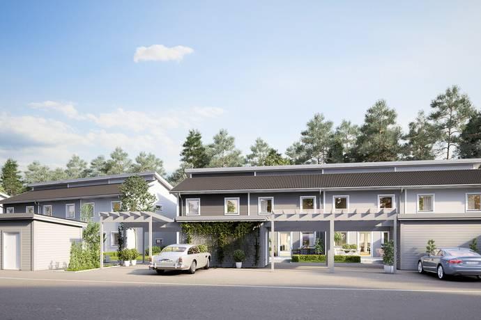 Bild från Nyproducerade radhus i Ljungaviken