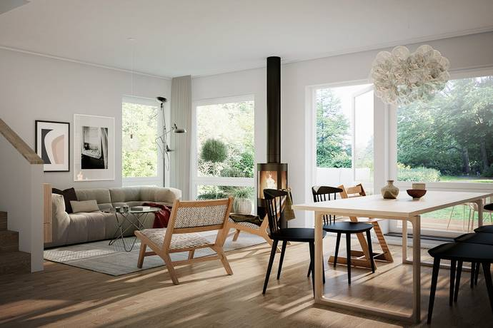 Bild: 6 rum radhus på Hus 25, Österåkers kommun Åkersberga