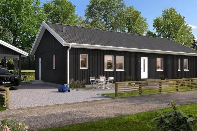 Bild: 4 rum villa på Horsadalsvägen 64, Kungsbacka kommun Frillesås