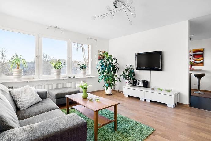 Bild: 2 rum bostadsrätt på Regnstigen 4, vån 3, Solna kommun Centrala Solna