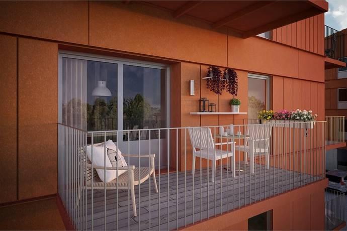 Bild: 1 rum bostadsrätt på Brf Snödroppsgränd, lgh 5:1205, Stockholms kommun Hässelby Norra Villastad