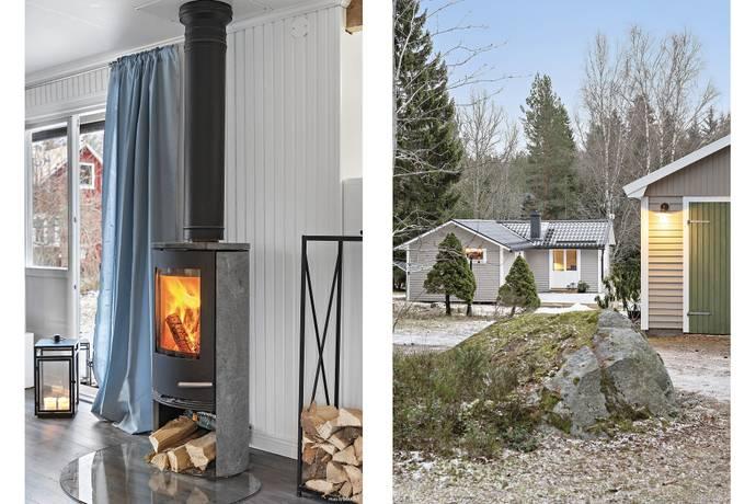 Bild: 3 rum villa på Gnejsvägen  14, Västerås kommun Munga