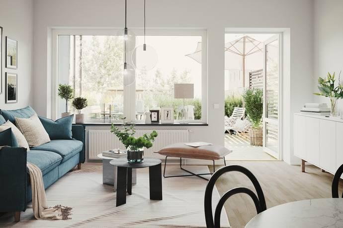 Bild: 2 rum bostadsrätt på Lavavägen 5, Kungsbacka kommun Kolla Parkstad
