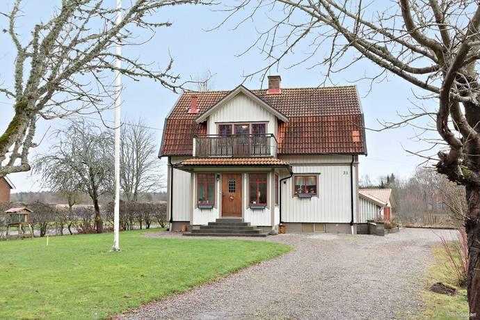 Bild: 8 rum villa på Vänebyvägen 23, Trollhättans kommun Åsaka