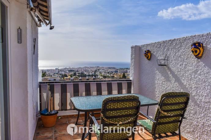 Bild: 4 rum radhus på Vackert radhus med utsikt över Nerja, Spanien Capistrano
