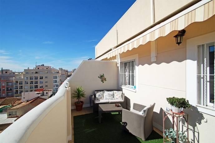 Bild: 3 rum bostadsrätt på Trevlig och välskött takvåning i centrala Torrevieja, Spanien Costa Blanca - Torrevieja