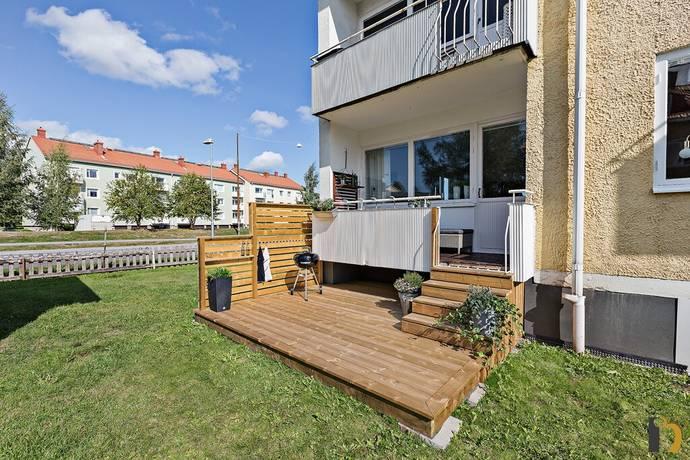 Bild: 3 rum bostadsrätt på Korpralsvägen 24, Umeå kommun Teg