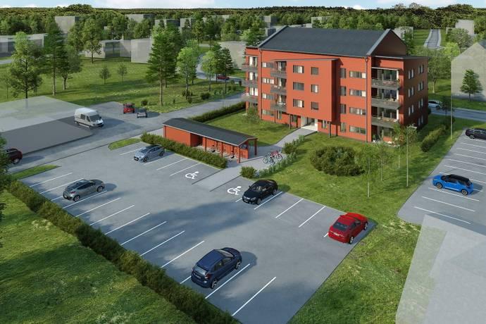 Bild: 2 rum bostadsrätt på Lärkstigen, Umeå kommun Sävar