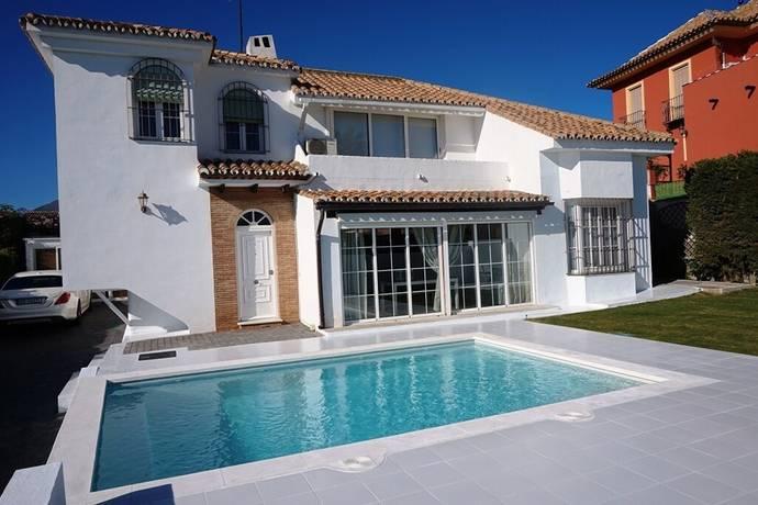 Bild: 5 rum villa på Fin villa med gångavstånd till stranden Playa del Cristo!, Spanien Estepona