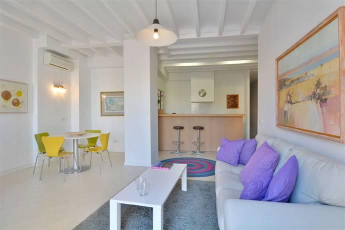 Bild: 3 rum bostadsrätt på Ljus och välplanerad lägenhet, Spanien Palma | Mallorca