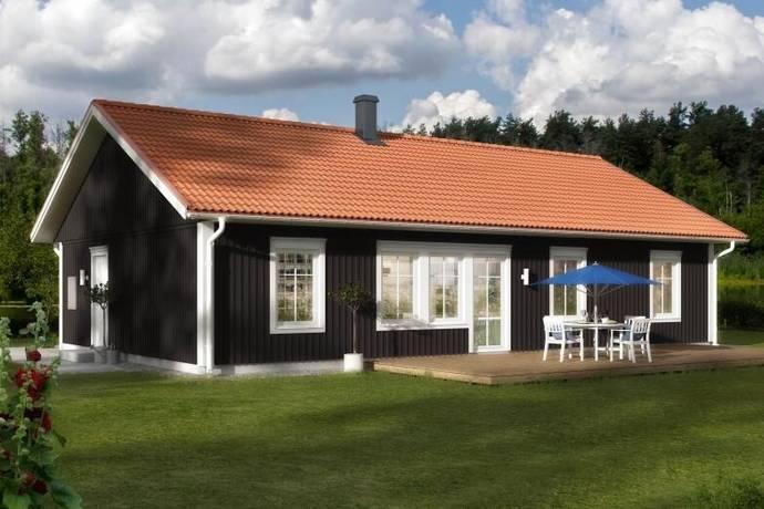 Bild: 4 rum villa på Matviksvägen, tomt 10, Karlshamns kommun Vettekulla/Matvik