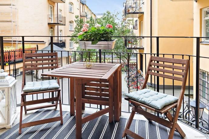 Bild: 3 rum bostadsrätt på Högalidsgatan 13B, Stockholms kommun Södermalm/Hornstull