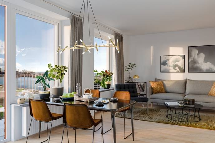 Bild: 3 rum bostadsrätt på Redaregatan, Helsingborgs kommun