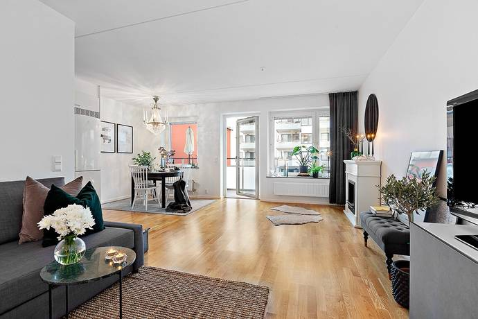 Bild: 2 rum bostadsrätt på Kamomillagatan 27, Stockholms kommun Annedal