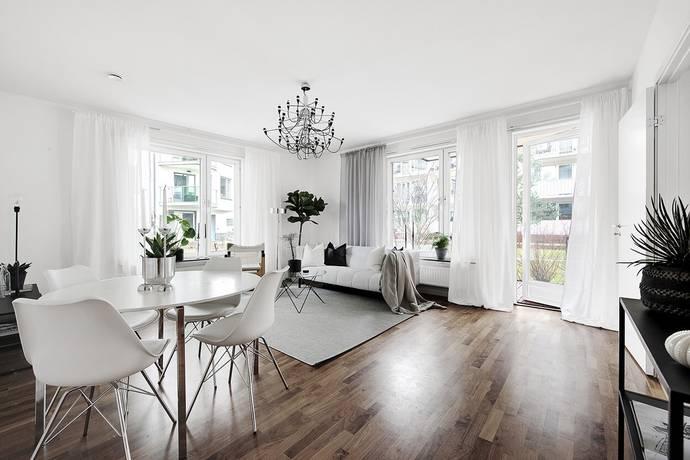 Bild: 3 rum bostadsrätt på Jan Inghes torg 16, Stockholms kommun Hammarby Sjöstad