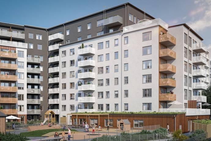 Bild från Bromma - Strandkanten Strandpilarna