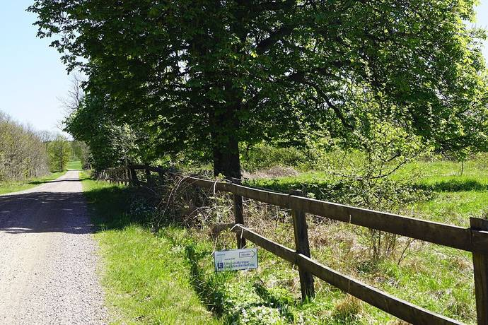 Bild: tomt på Knutstorp 1200, Svalövs kommun Knutstorp