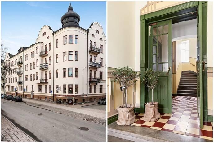 Bild: 4 rum bostadsrätt på Lasarettsboulevarden 7A, Kristianstads kommun Kristianstad - Östermalm
