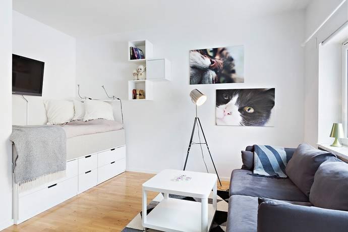 Bild: 1 rum bostadsrätt på Brändströmsgatan 9A, Gävle kommun Centralt/Väster