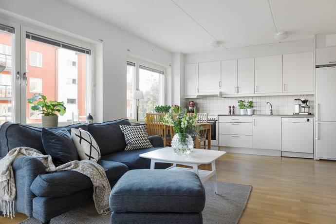 Bild: 2 rum bostadsrätt på Fridensborgsvägen 39, Solna kommun Järvastaden