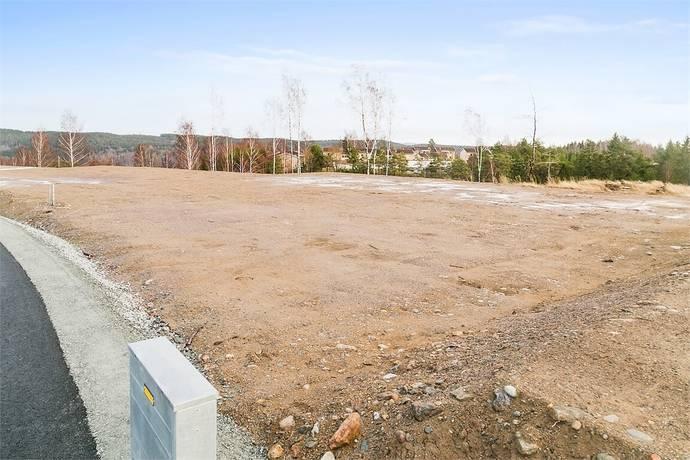 Bild: tomt på Korpvägen 17, Dals-Eds kommun Ed
