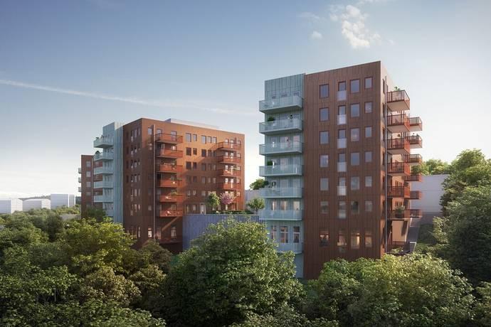 Bild: 2 rum bostadsrätt på Knapebacken 23, Göteborgs kommun Sisjödal