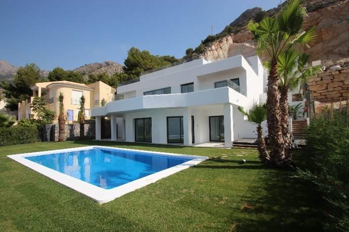 Frist ende hus premium class i costa blanca altea villa till salu hemnet - Huis design met zwembad ...