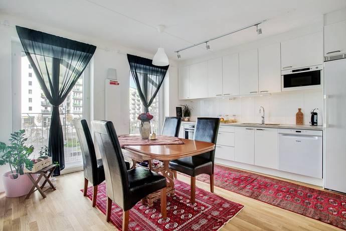 Bild: 3 rum bostadsrätt på Kalvshällavägen 26, Järfälla kommun Barkarbystaden