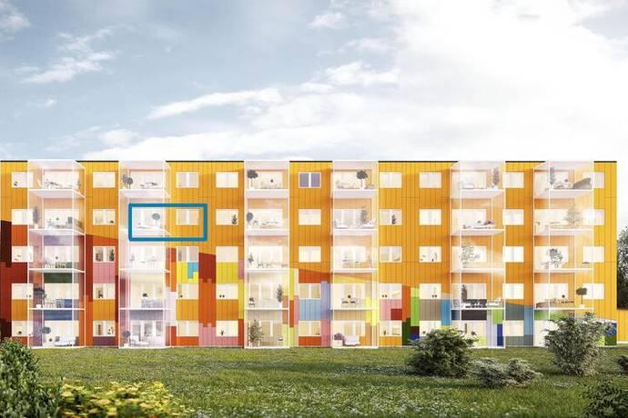 Bild: 2 rum bostadsrätt på Centrumgatan 4, Sundsvalls kommun Kvissleby - Njurunda
