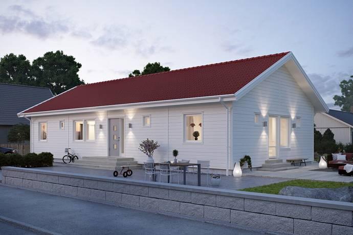 Bild: 122 m² villa på Västra Hedängsvägen 7, Bollebygds kommun Bollebygd